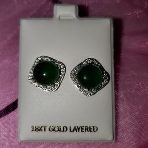 Beautiful new green earrings